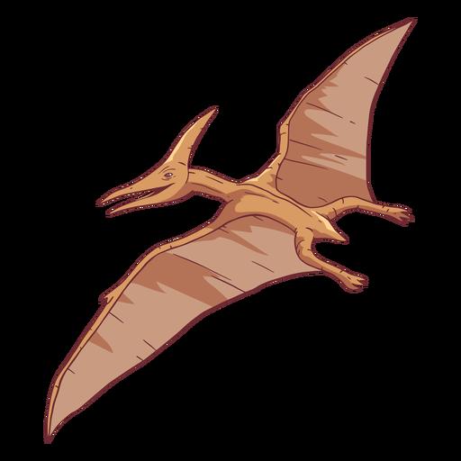 Ilustración de dinosaurio pterodáctilo