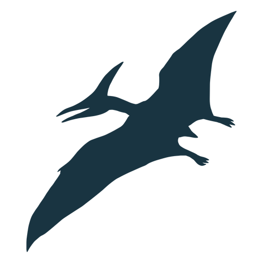 Pterodactyl dinosaur silhouette Transparent PNG