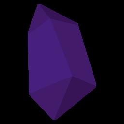 Lila Stück Kristall