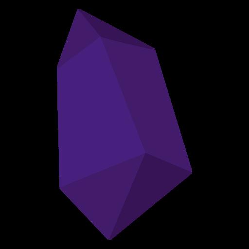 Purple chunk crystal Transparent PNG