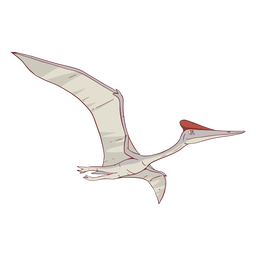 Quetzalcoatlus dinosaur illustration