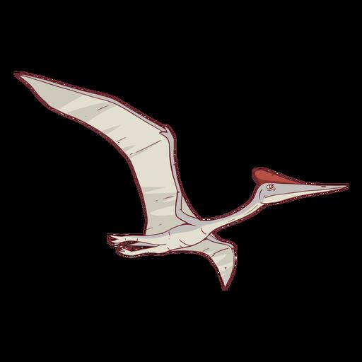 Ilustración de dinosaurio Quetzalcoatlus