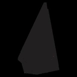 Triángulo de cristal peculiar
