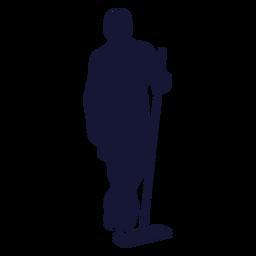 Limpiador para trapear silueta