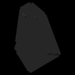 Forma de cristal simple