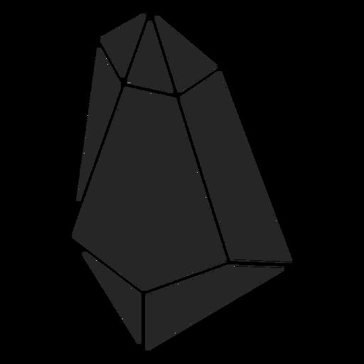 Simple crystal shape