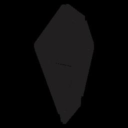 Simple crystal top view