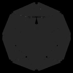 Forma de cristal de esfera