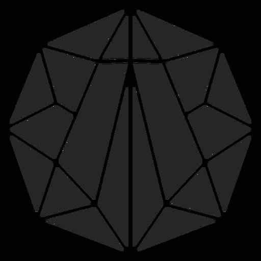 Sphere crystal shape