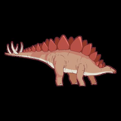 Stegosaurus Dinosaurier Illustration