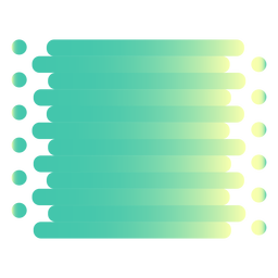 Desliza los círculos de flujo de degradado