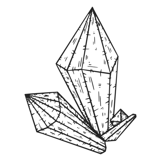 Three Crystals Cool Transparent Png Svg Vector File