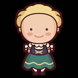 Traditionelle deutsche Kleidung
