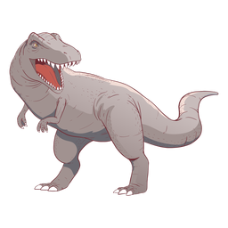 Trex dinosaur illustration