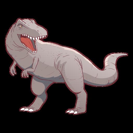 Ilustraci?n de dinosaurio Trex