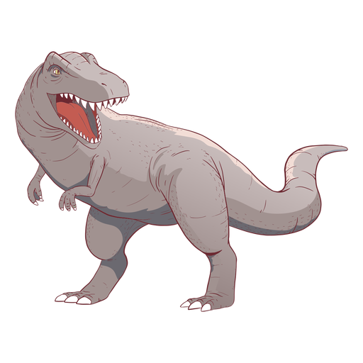 Trex Dinosaurier Illustration