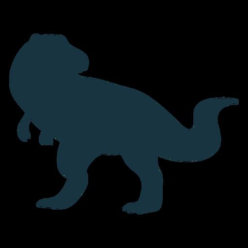 Silueta de dinosaurio trex