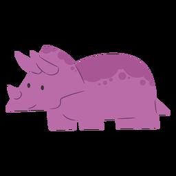 Triceratops dino cute