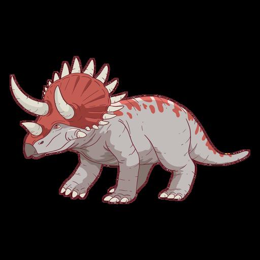 Triceratops Dinosaurierillustration