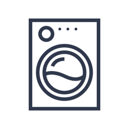 Washing machine icon cleaning