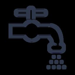 Ícone de torneira de água