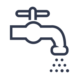 Icono de grifo de agua