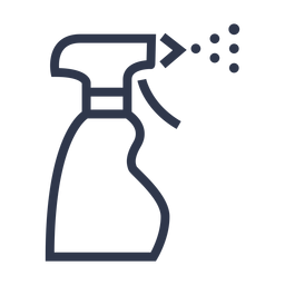 Ícone de spray de água