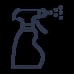 Icono de spray de agua