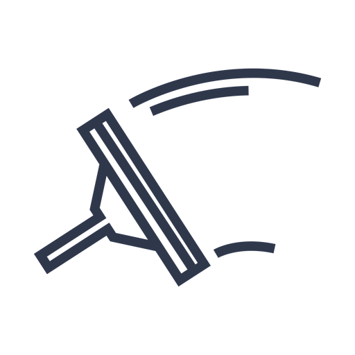 Window wiper icon