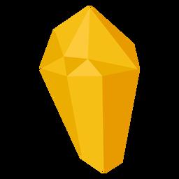 Bloque de cristal amarillo