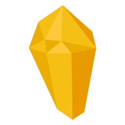 Yellow block crystal
