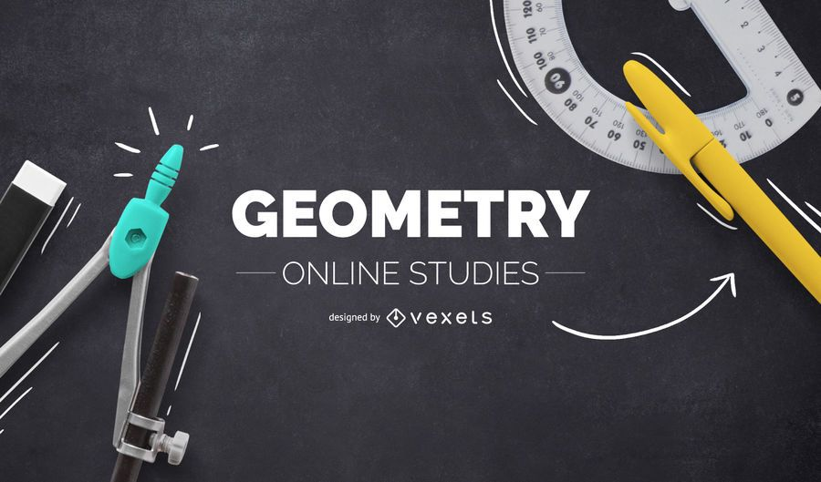 Geometry online cover design