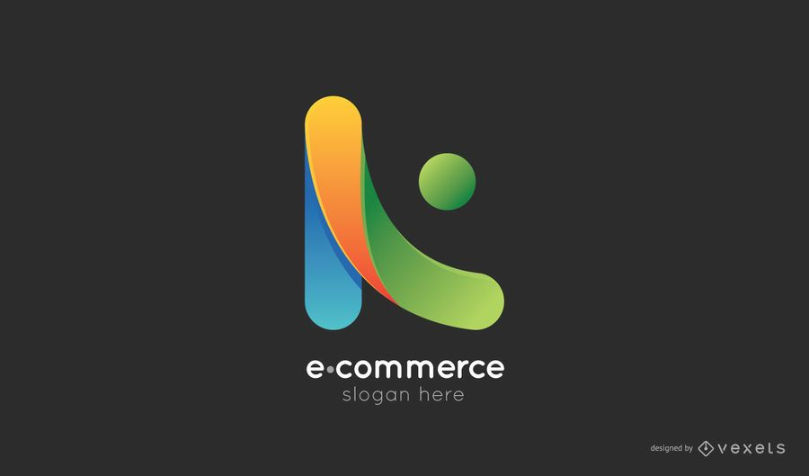 Plantilla de logotipo de comercio electrónico