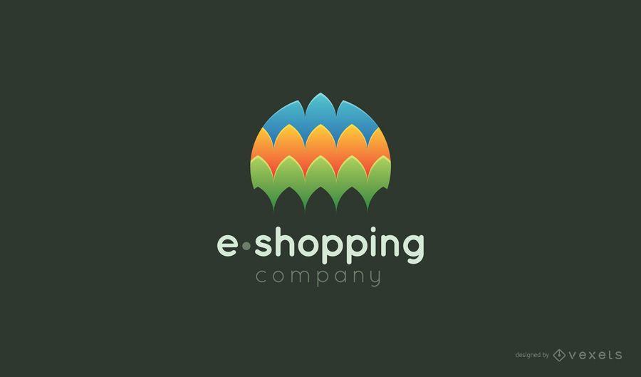 E-shopping logo template