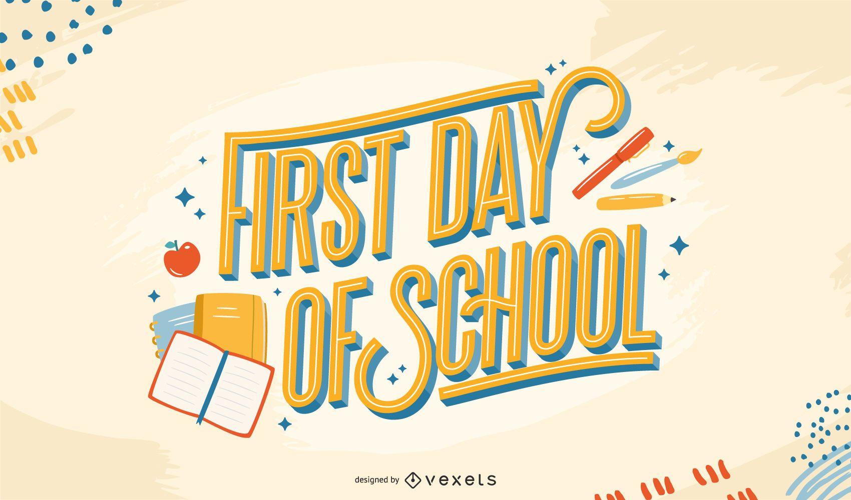 Letras del primer día de clases