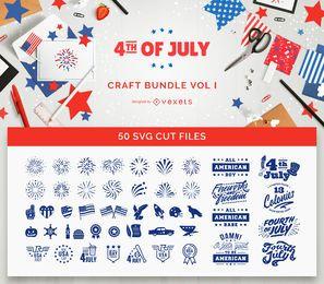 4. Juli Craft Bundle Vol I.