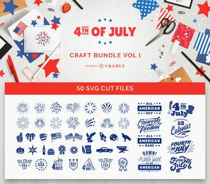 4th of July Craft Bundle Vol I