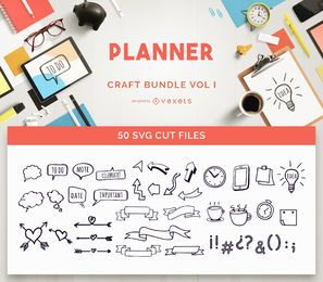Planner Craft Bundle Vol I