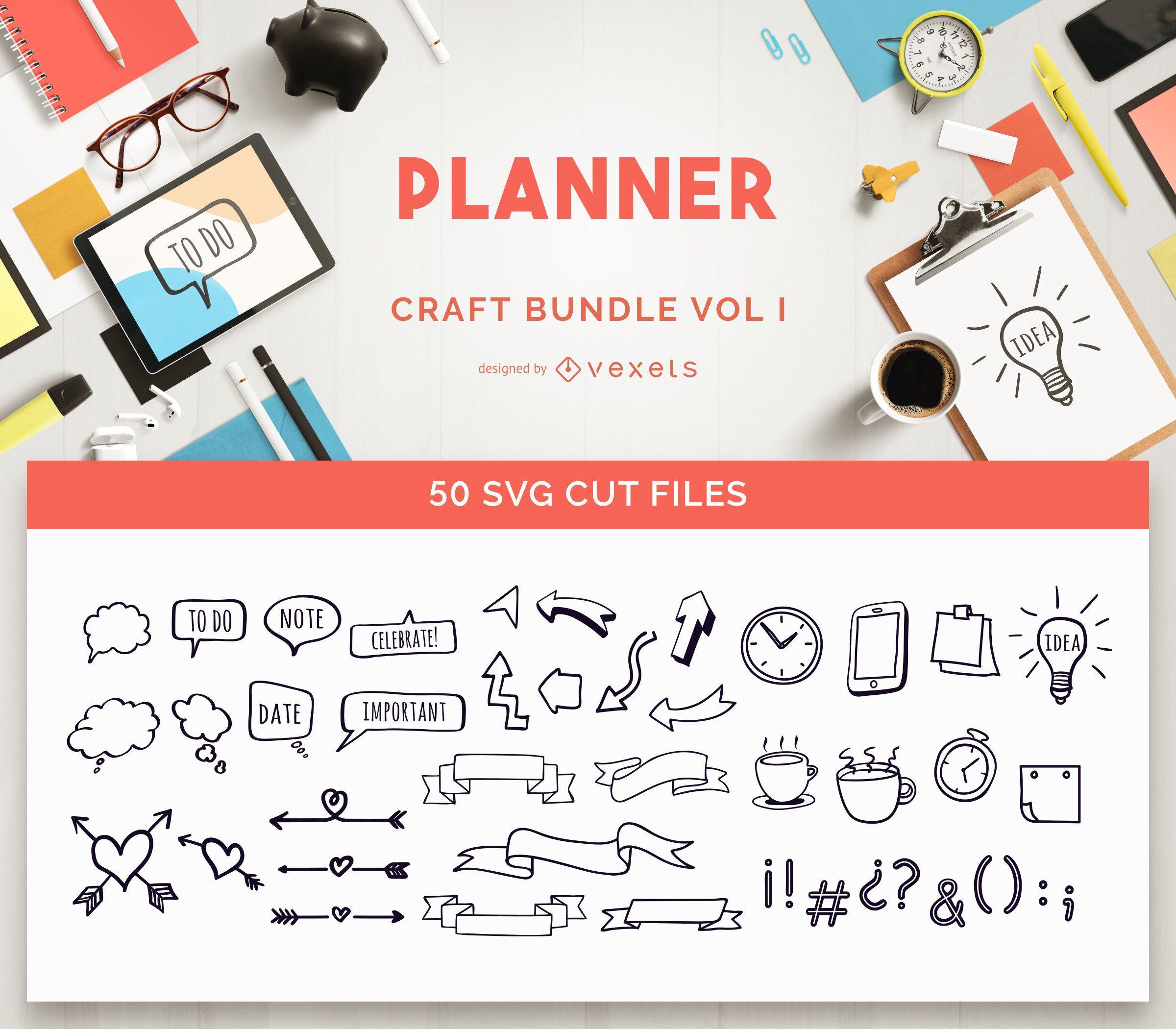 Planner Craft Bundle Vol I