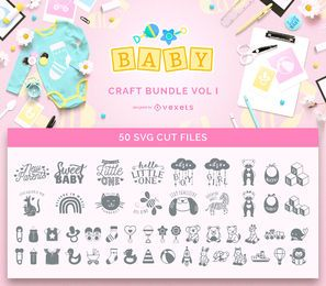 Baby Craft Bundle Vol I