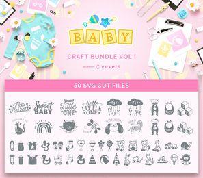 Pacote de artesanato para bebês Vol I