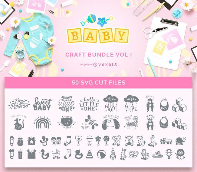 Paquete de manualidades para bebés Vol I