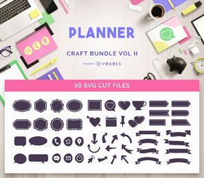 Planner Craft Bundle Vol II