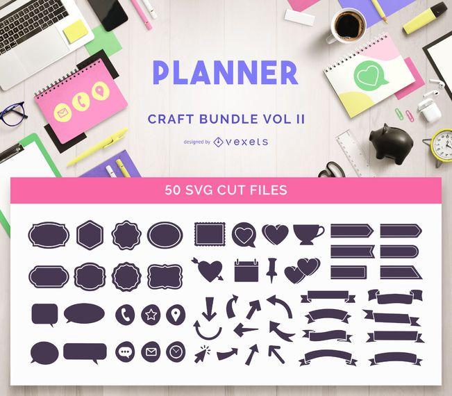 Paquete de manualidades de planificador Vol II