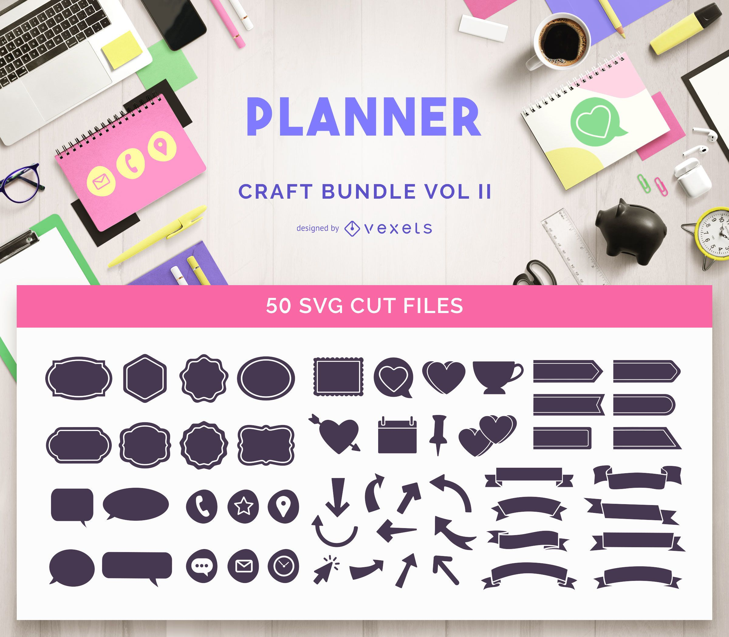 Planner Craft Bundle Vol II