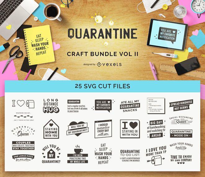 Quarantine Craft Bundle Vol II