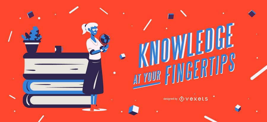 Knowledge at your fingertips slider