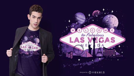 Design de camisetas Las Vegas