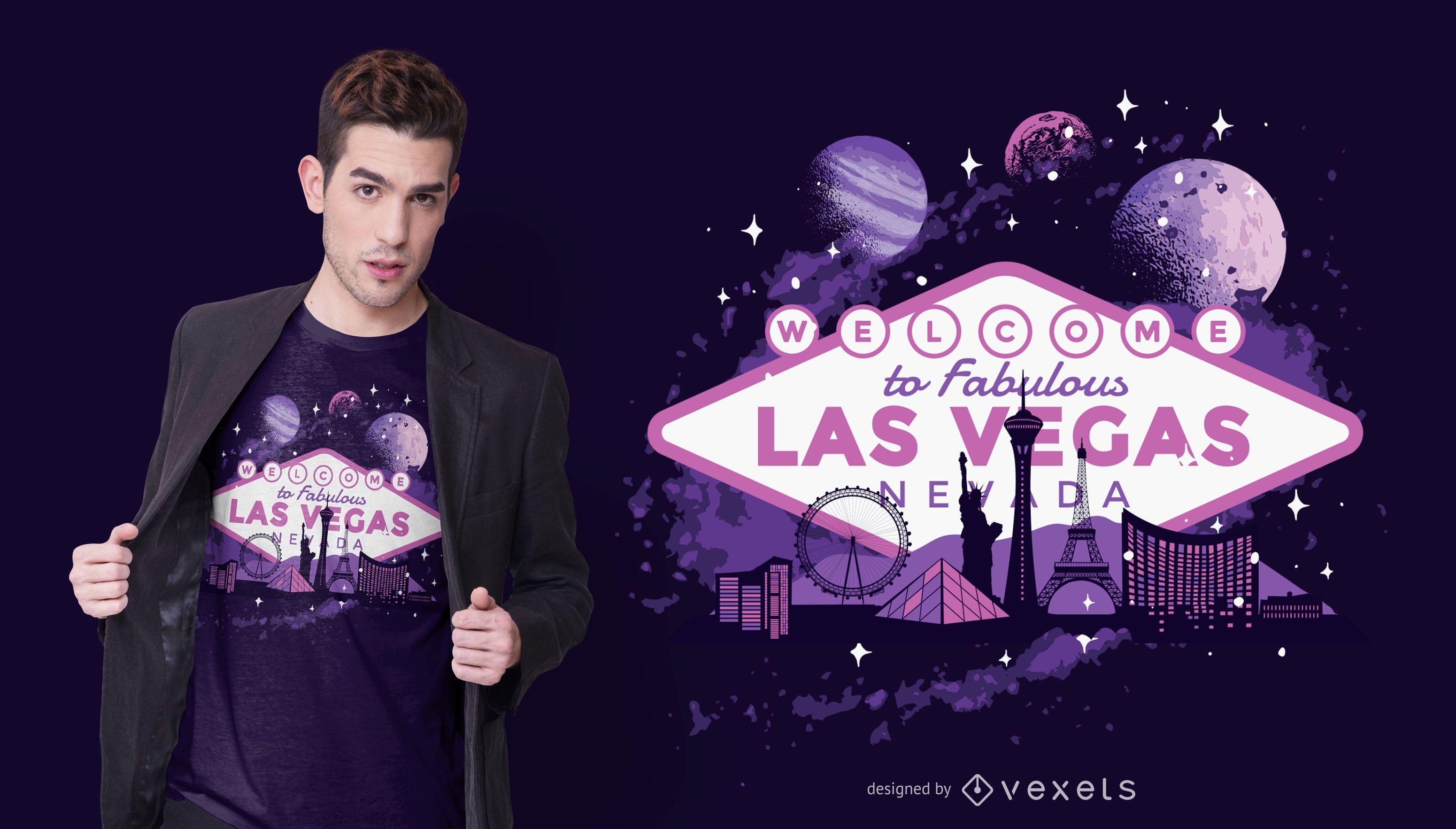 Las vegas t-shirt design