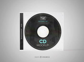 Maquete de capa de CD